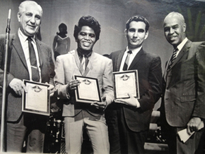 Jack Bart of Lac Entertainment and James Brown